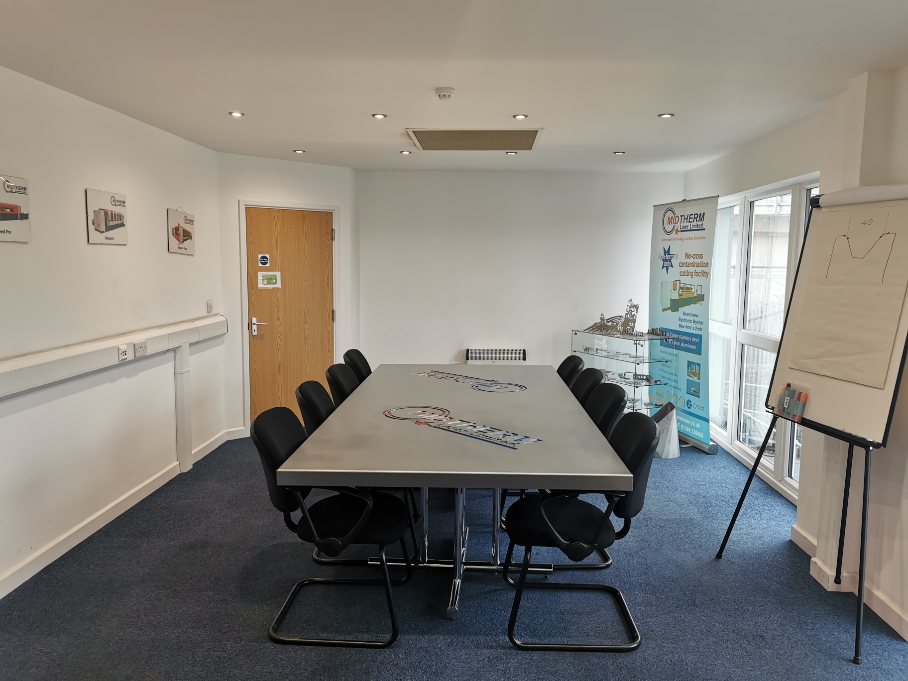The new board room